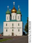Успенский собор в Коломне (2011 год). Стоковое фото, фотограф Ларионов Олег / Фотобанк Лори