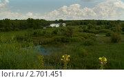 Разлив реки. Стоковое видео, видеограф Игорь Тирский / Фотобанк Лори