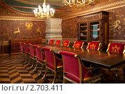 Купить «Кабинет в Палатах Волкова-Юсупова», фото № 2703411, снято 7 августа 2011 г. (c) Рыбакова Людмила / Фотобанк Лори