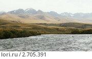Купить «Горная река», видеоролик № 2705391, снято 14 сентября 2010 г. (c) Юрий Пономарёв / Фотобанк Лори
