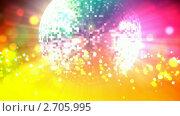 Купить «Шар диско», видеоролик № 2705995, снято 17 июня 2009 г. (c) Алексей Комаренко / Фотобанк Лори
