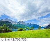 Купить «Альпийское озеро Грундлзее (Grundlsee) . Австрия.», фото № 2706735, снято 4 июня 2011 г. (c) Юрий Брыкайло / Фотобанк Лори
