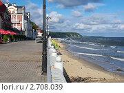 Купить «Набережная Светлогорска», фото № 2708039, снято 9 августа 2011 г. (c) Сергей Куров / Фотобанк Лори