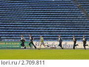 Купить «На стадионе», эксклюзивное фото № 2709811, снято 28 апреля 2011 г. (c) Free Wind / Фотобанк Лори