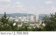 Купить «Верхнебаканский цементный завод», эксклюзивное фото № 2709903, снято 28 июля 2011 г. (c) Олег Хархан / Фотобанк Лори