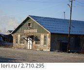 Купить «Заброшенный магазин», фото № 2710295, снято 21 января 2008 г. (c) Светлана Белова / Фотобанк Лори