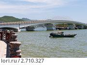 Купить «Мост к острову Феникс, Хайнань», фото № 2710327, снято 4 августа 2011 г. (c) Алексей Щукин / Фотобанк Лори