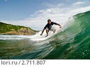 Купить «Серфинг», фото № 2711807, снято 10 августа 2011 г. (c) Денис Карелин / Фотобанк Лори
