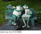 Купить «Ландшафтный дизайн. Романтическое свидание.», фото № 2717899, снято 31 июля 2011 г. (c) Victoria Demidova / Фотобанк Лори