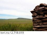 Купить «Долина Хакасии», фото № 2718019, снято 15 июля 2011 г. (c) Сергей Болоткин / Фотобанк Лори