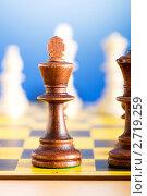 Шахматы. Стоковое фото, фотограф Elnur / Фотобанк Лори