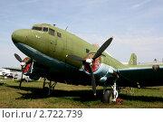Советский военно-транспортный самолёт Ли-2 (2011 год). Редакционное фото, фотограф Павел Красихин / Фотобанк Лори