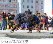 Национальная ненецкая борьба (2011 год). Редакционное фото, фотограф Светлана Белова / Фотобанк Лори
