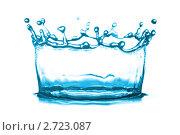 Купить «Всплеск воды», фото № 2723087, снято 5 июля 2011 г. (c) Константин Тавров / Фотобанк Лори
