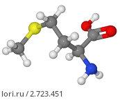 Купить «Шаростержневая модель молекулы метионина», иллюстрация № 2723451 (c) Владимир Федорчук / Фотобанк Лори
