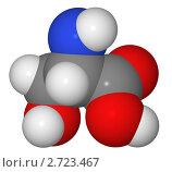 Купить «Полусферическая (объемная) модель молекулы серина», иллюстрация № 2723467 (c) Владимир Федорчук / Фотобанк Лори