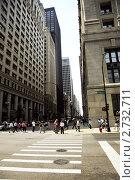 Улица в Чикаго. Редакционное фото, фотограф Столыпин Борис / Фотобанк Лори
