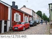 Купить «Старая улочка. Порвоо. Финляндия», эксклюзивное фото № 2733443, снято 7 августа 2011 г. (c) Александр Щепин / Фотобанк Лори