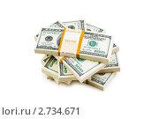 Купить «Доллары», фото № 2734671, снято 25 апреля 2009 г. (c) Elnur / Фотобанк Лори