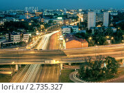 Купить «Пересечение Варшавского Шоссе и Третьего Транспортного Кольца», фото № 2735327, снято 19 августа 2011 г. (c) Kremchik / Фотобанк Лори
