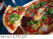 Пицца. Стоковое фото, фотограф Анна Лисовская / Фотобанк Лори