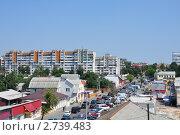 Купить «Гомель, вид на улицу Карповича», эксклюзивное фото № 2739483, снято 15 июля 2011 г. (c) Дмитрий Абушкин / Фотобанк Лори
