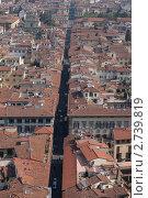Флоренция, Старый город (2011 год). Стоковое фото, фотограф Сергей Алямовский / Фотобанк Лори