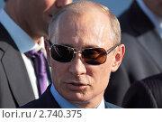 Купить «Владимир Путин на международном авиационно-космическом салоне МАКС-2011», фото № 2740375, снято 17 августа 2011 г. (c) Игорь Долгов / Фотобанк Лори