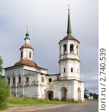 Ильинская церковь в Великом Устюге (2008 год). Стоковое фото, фотограф Солодовникова Елена / Фотобанк Лори
