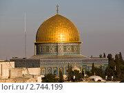 Купить «Вид сверху на мечеть Купол Скалы. Израиль», фото № 2744199, снято 23 июля 2011 г. (c) Юлий Шик / Фотобанк Лори