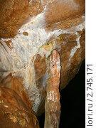 Купить «Мраморная пещера. Крым, Чатырдаг», эксклюзивное фото № 2745171, снято 21 августа 2008 г. (c) Щеголева Ольга / Фотобанк Лори