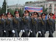 Купить «Полицейский марш», эксклюзивное фото № 2745339, снято 12 июня 2011 г. (c) Free Wind / Фотобанк Лори