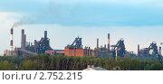 Купить «Нижнетагильский металлургический комбинат», фото № 2752215, снято 15 августа 2011 г. (c) Андрей Голубев / Фотобанк Лори
