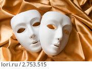 Купить «Театральные маски», фото № 2753515, снято 3 октября 2010 г. (c) Elnur / Фотобанк Лори