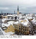 Таллин, Старый Город (2011 год). Стоковое фото, фотограф Алексей Измайлов / Фотобанк Лори