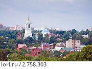 Купить «Город Серпухов», эксклюзивное фото № 2758303, снято 9 июля 2011 г. (c) Сергей Лаврентьев / Фотобанк Лори