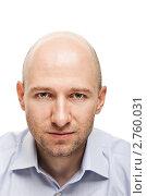 Купить «Портрет серьезного делового мужчины», фото № 2760031, снято 28 июля 2011 г. (c) Илья Андриянов / Фотобанк Лори