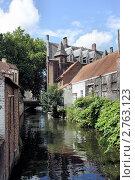 Купить «Брюгге. Канал», фото № 2763123, снято 22 июля 2011 г. (c) Илюхин Илья / Фотобанк Лори