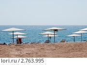 Пляж. Стоковое фото, фотограф Сергей Родин / Фотобанк Лори