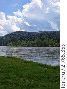 На реке. Стоковое фото, фотограф Юрий Караваев / Фотобанк Лори