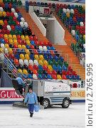 Купить «Ледовая арена Мегаспорт во время чемпионата мира по фигурному катанию 2011 года», фото № 2765995, снято 28 апреля 2011 г. (c) Игорь Долгов / Фотобанк Лори