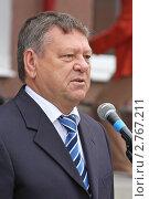 Купить «Валерий Сердюков, губернатор Ленинградской области», фото № 2767211, снято 1 сентября 2011 г. (c) Александр Тарасенков / Фотобанк Лори
