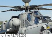 Кабина боевого ударного вертолета Ми-28Н (Ночной Охотник) (2011 год). Редакционное фото, фотограф Сизов Евгений / Фотобанк Лори