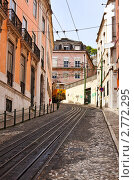 Улица Лиссабона, Португалия (2011 год). Стоковое фото, фотограф Демчишина Ольга / Фотобанк Лори