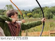 Лучник (2011 год). Редакционное фото, фотограф Николай Голиков / Фотобанк Лори