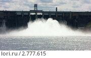 Купить «Красноярская ГЭС», видеоролик № 2777615, снято 16 июня 2010 г. (c) Юрий Пономарёв / Фотобанк Лори