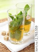 Купить «Мятный чай», фото № 2783559, снято 9 июня 2011 г. (c) Stockphoto / Фотобанк Лори