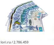 Купить «Казахстанские юбилейные банкноты(тенге)», эксклюзивное фото № 2786459, снято 15 февраля 2011 г. (c) Blekcat / Фотобанк Лори