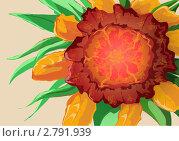 Загадочный цветок. Стоковая иллюстрация, иллюстратор Манистина Инна / Фотобанк Лори