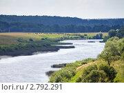 Купить «Река Угра», эксклюзивное фото № 2792291, снято 29 июля 2011 г. (c) Сергей Лаврентьев / Фотобанк Лори